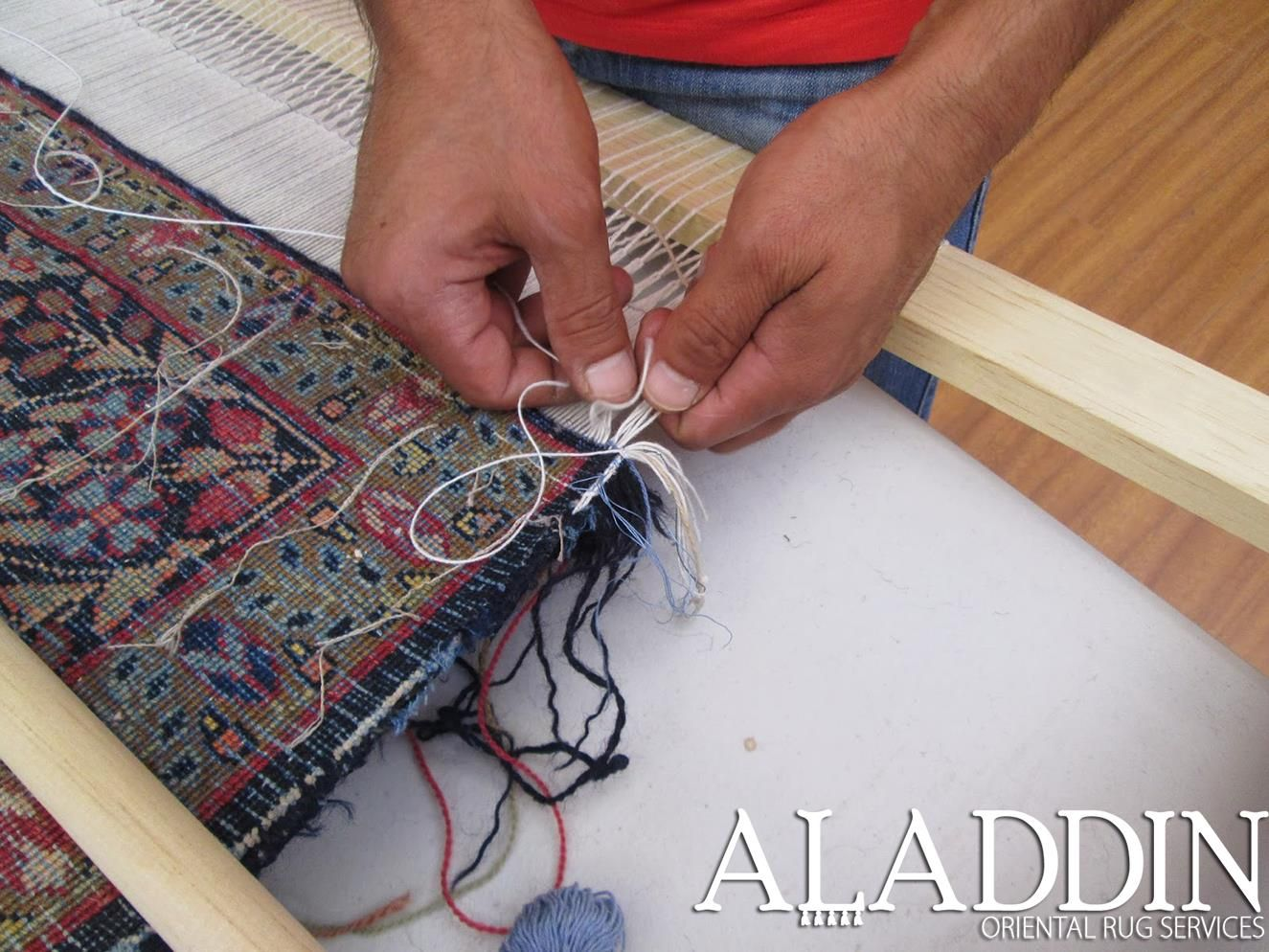 Restore the original beauty of your rug with help from our repair experts, no matter the extent of damage. Our professional staff is able to recreate and reweave portions of any rug and its underlying foundation to make a damaged piece stand out again. www.aladdinorientalrug.com (732) 456-5511 #NJ #MiddlesexCounty #Somerset County #Hunterdon County #newjersey #njrugcleaning #orientalrugs #orientalrugrepair