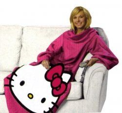 b7f716e7d Hello Kitty Snuggies: Looking for a Hello Kitty Snuggie? Look no further!  There are several colors, prints and patterns to choose from listed.