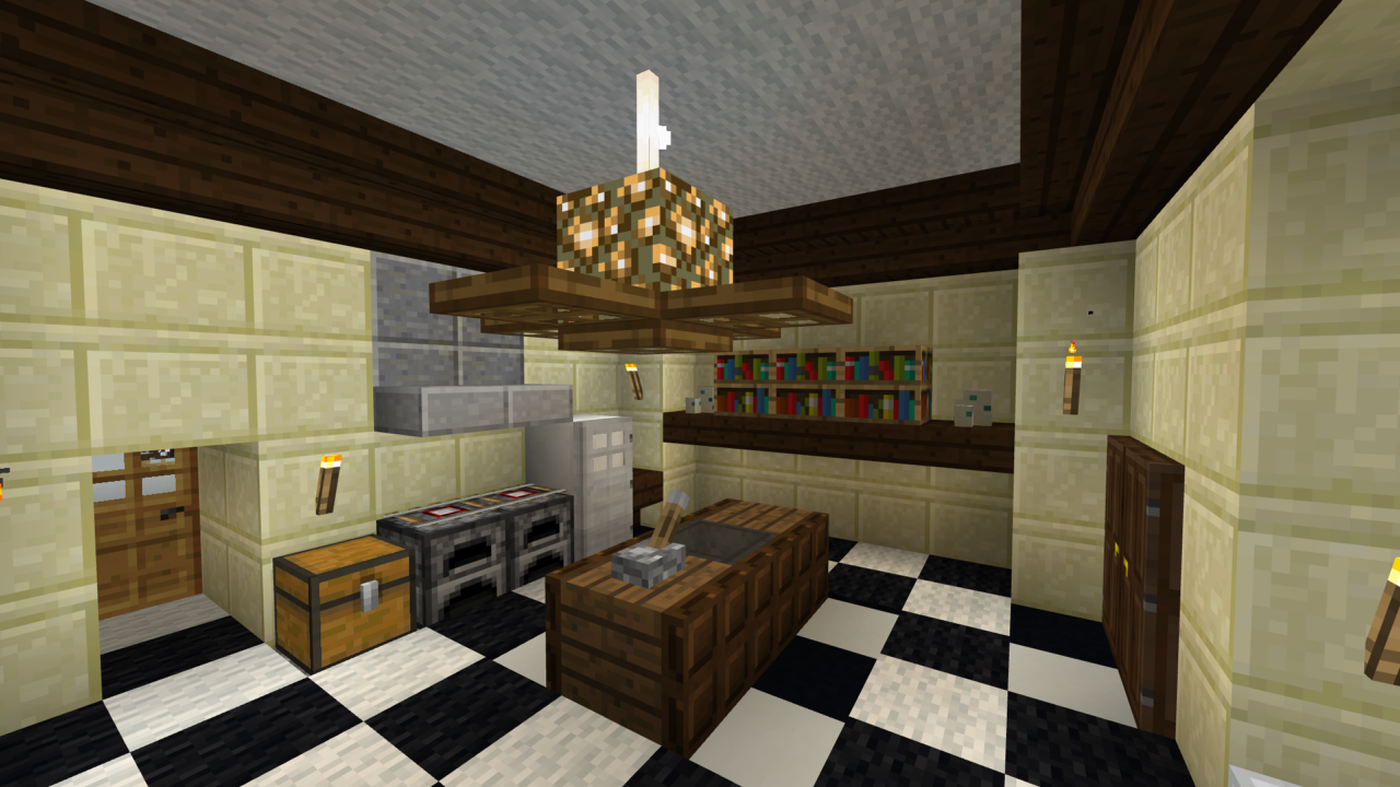 Kitchen Minecraft Furniture Ideas - FurnituresWeb