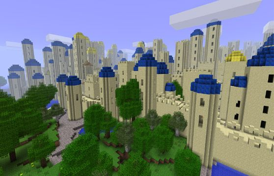 Walled City and Road Generator Mod 1.7.2/1.6.2 - http://www.minecraftjunky.com/walled-city-and-road-generator-mod-1-7-21-6-2/