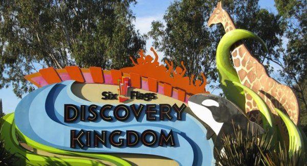 Jfm Six Flags Discovery Kingdom Discovery Six Flags Kingdom