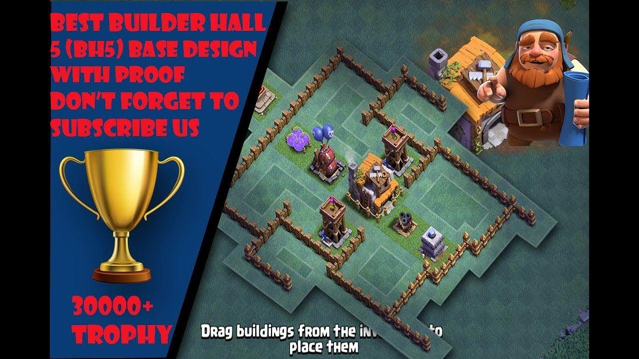 Clash of clans Best Builder hall 5 (BH5) Base design