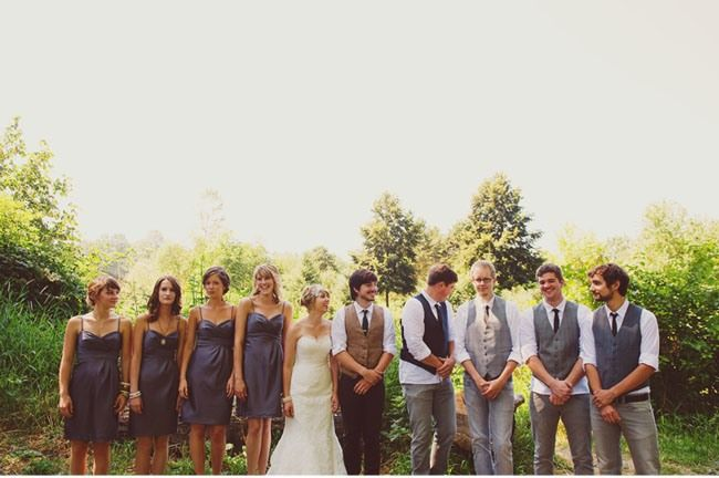 Casual Grooms Wear For Outdoor Wedding.
