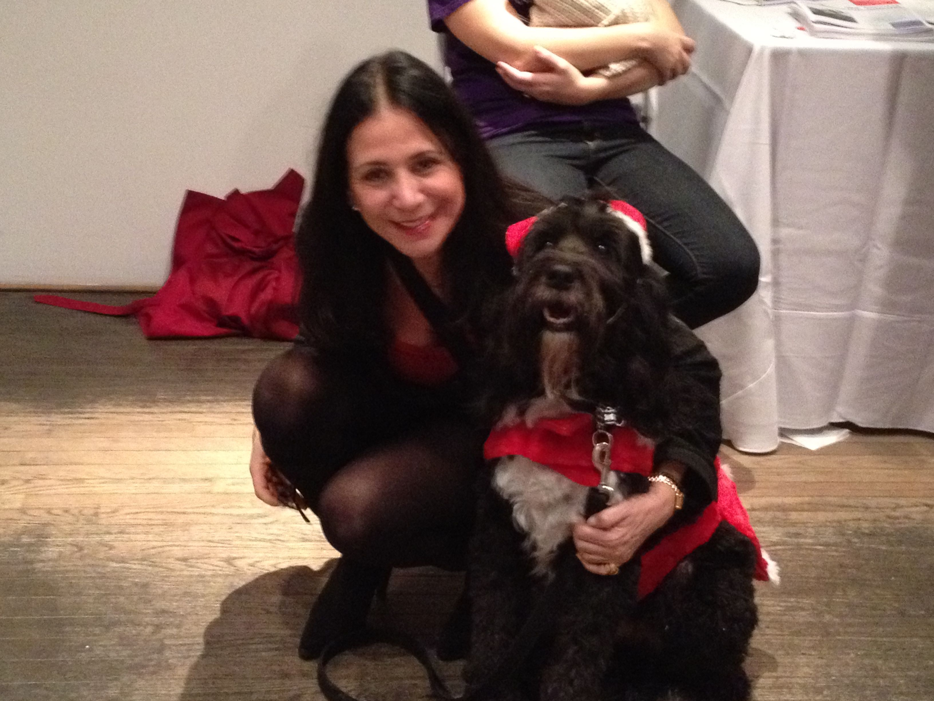 Animal haven benefit 121012 nyc ceo susan traub with