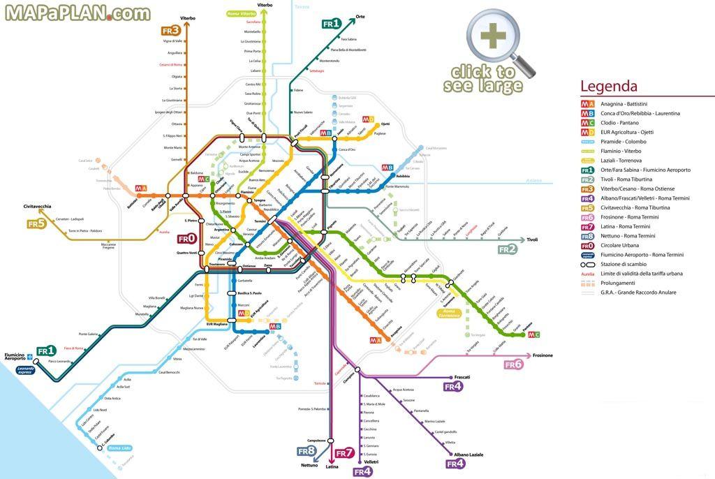 nice Rome Metro Map Transit Pinterest Rome Public transport