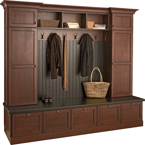 Mudroom Love This Locker System With The Bench Seating