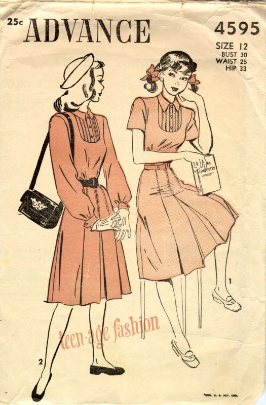 1940s teen fashion | 1930s - 1940s | Pinterest | 1940er und 30er