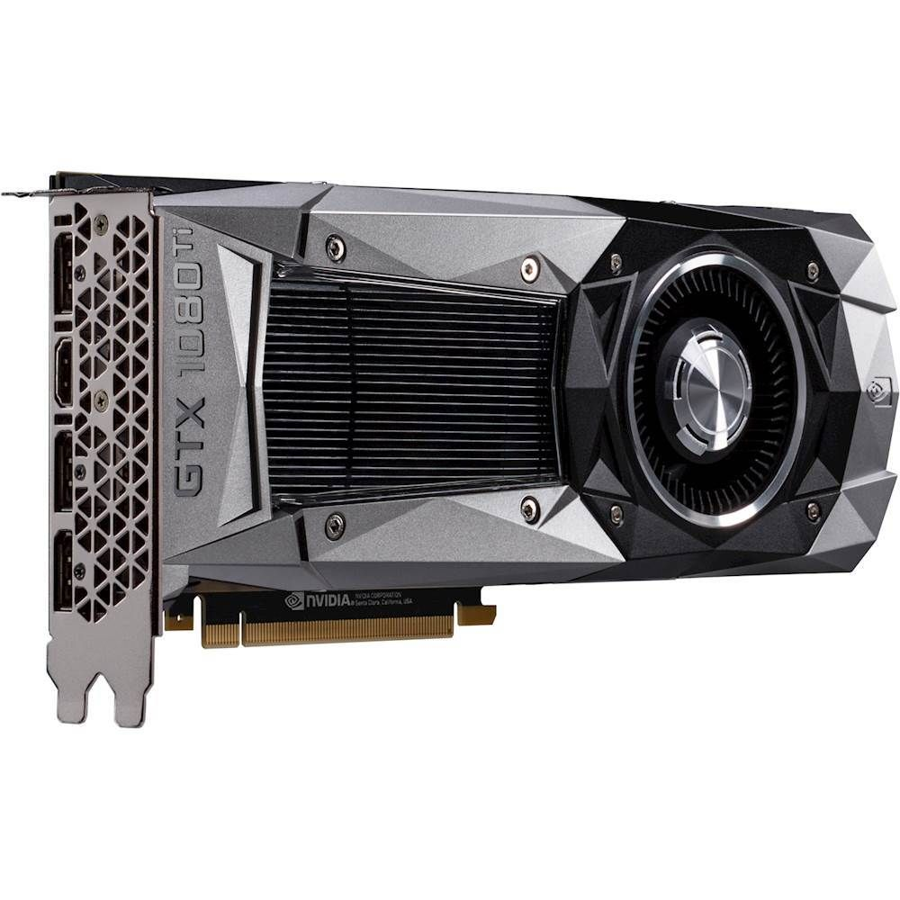 Pny Founders Edition Nvidia Geforce Gtx 1080 Ti 11gb Gddr5x Pci Express 3 0 Graphics Card Products