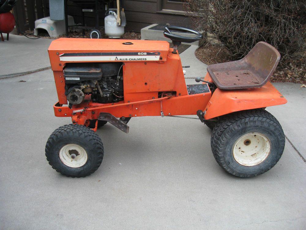 Superb Allis Chalmers Garden Tractor Model 608