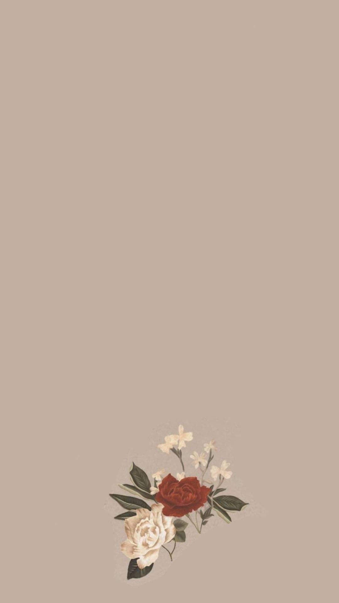 Aesthetic Instagram Android Background : Flowers Wallpaper