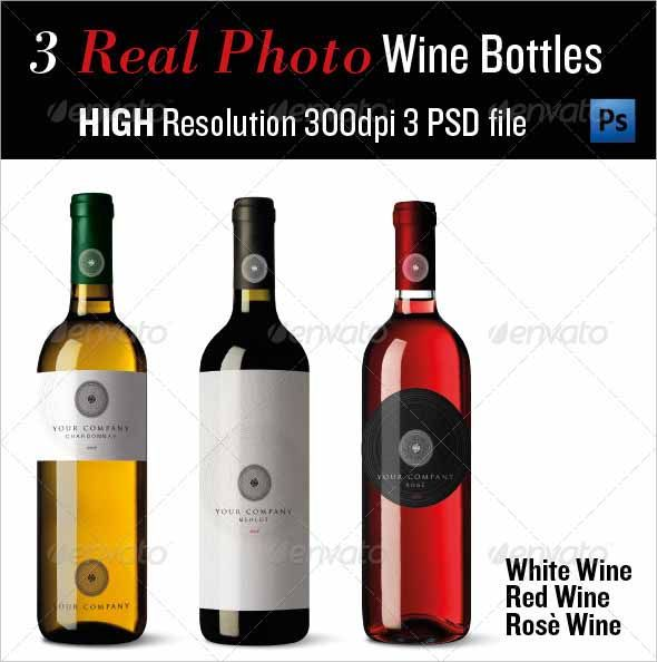 Best Wine Bottle Mockup Psd Free  Premium Download  Mockup