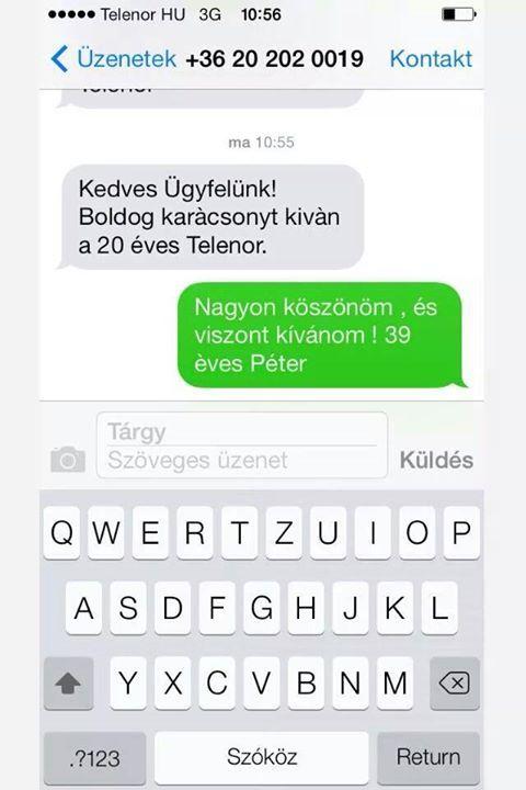 üzenet vicces társkereső)
