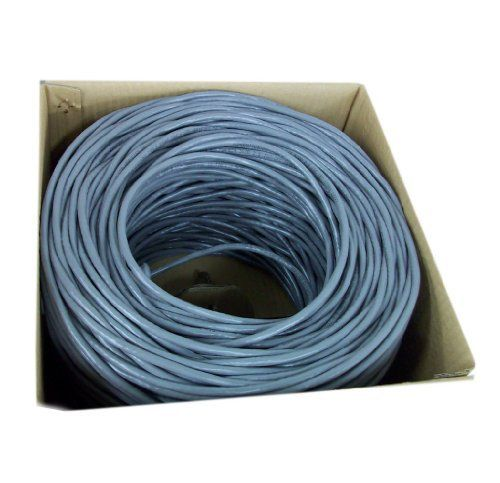 CAT6 500FT UTP CCA Cable 23AWG Ethernet LAN Bulk Wire CAT6 RJ45 Blue Pull Box