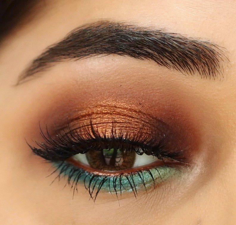 Mar Summer Teal & Bronze Eyeshadow Palette