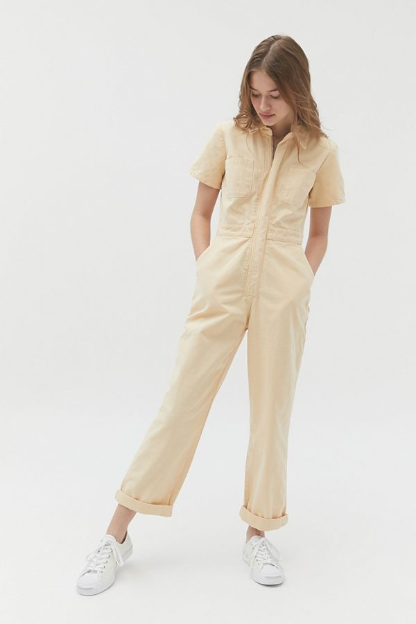 UO Canvas Flight Jumpsuit in 2020   Urban outfitters