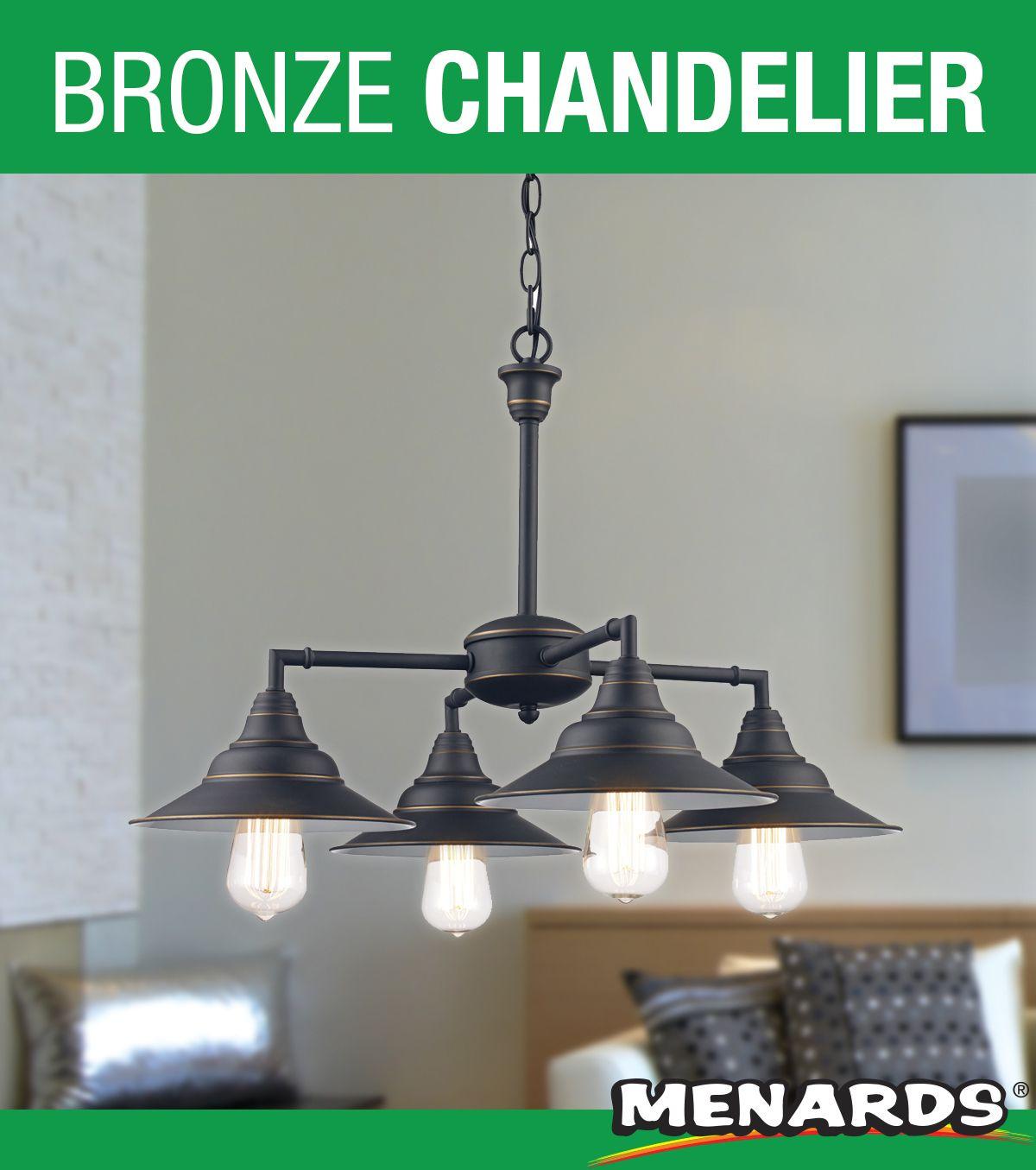 Denzel Chandelier From Patriot Lighting