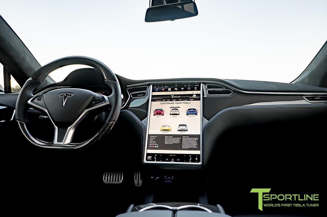 Tesla Model S Carbon Fiber Dash Panel Kit Tesla Model S Tesla Model Tesla