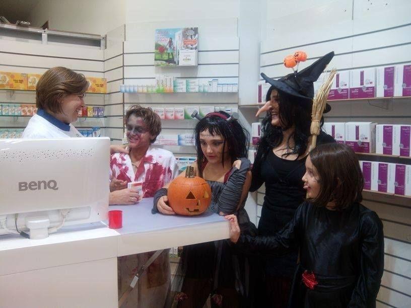 Halloween en Farmacia La Plazuela