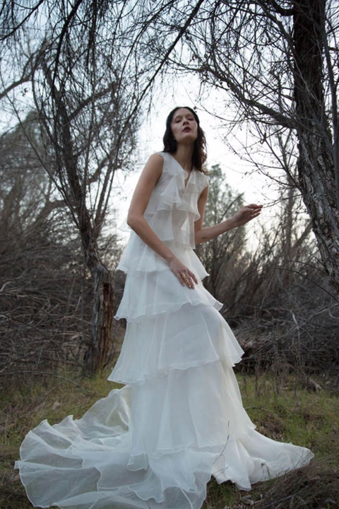 70 Mühelose Looks für die Boho-Braut