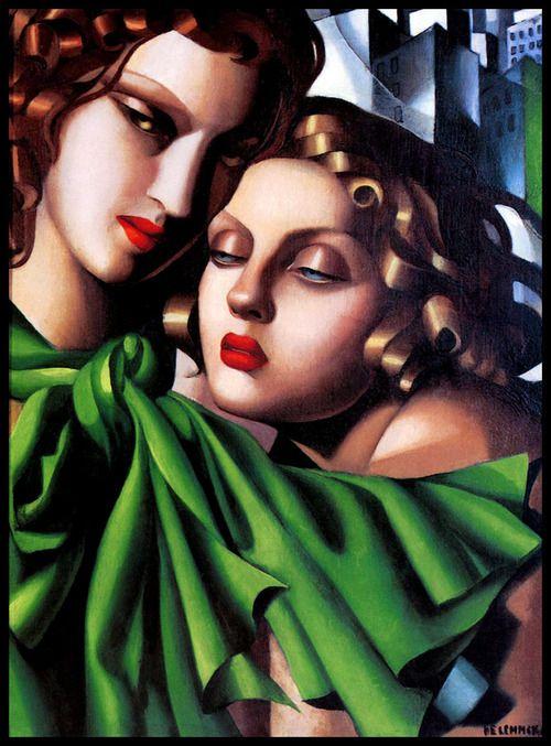 """The Girls"", 1928, Tamara de Lempicka."