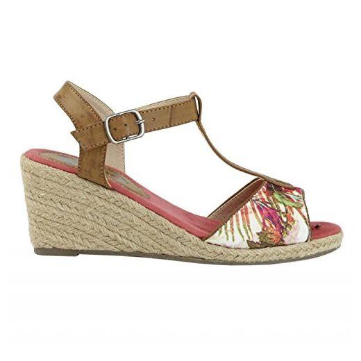 Zapatos de cuña de Mujer REFRESH 61778 ELAST NEGRO Talla 37 OJgzR