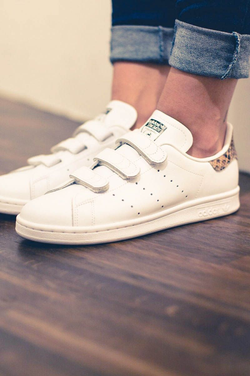 36f63f2d07bb Velcro × Snake #stansmith #adidas #sneakers | From the street en ...