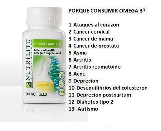 Por Que Consumir Omega Nutrilite Amway Amway Business