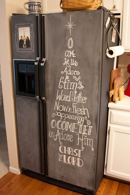 Mom Sisters Edition Cris Chalkboard Fridge Chalkboard Fridge Fridge Makeover Fridge