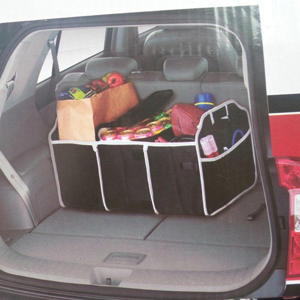 Car Trunk Foldable Boot Organiser Portable Storage Holder Bag Travel Tidy Box UK