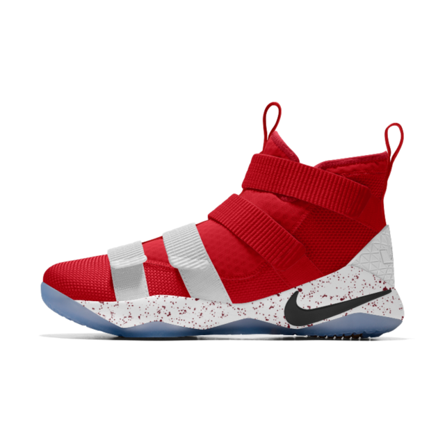 new concept bf2da 4422d LeBron Soldier XI iD Men's Basketball Shoe | LeBron Soldier XI iD ...