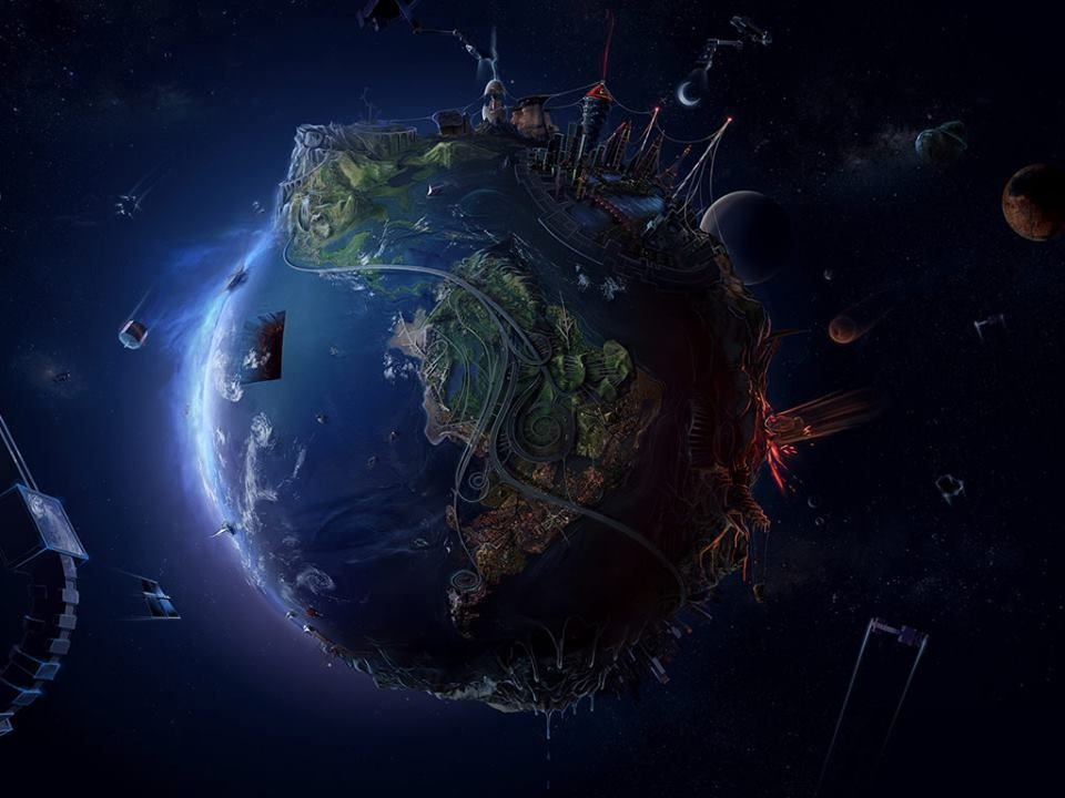 Dark Art - Fantastic Earth