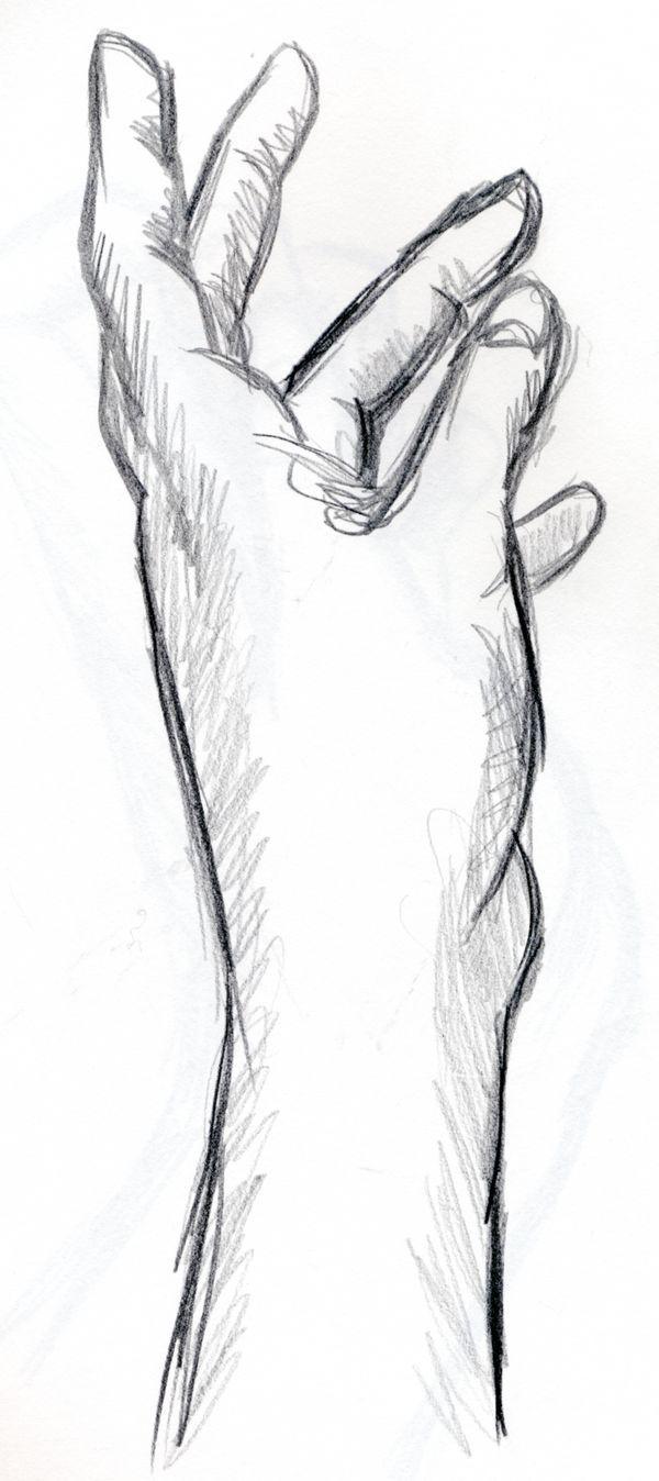 Hände Sind Nicht Einfach Zu Zeichnen Aber Vielleicht Hilft Euch