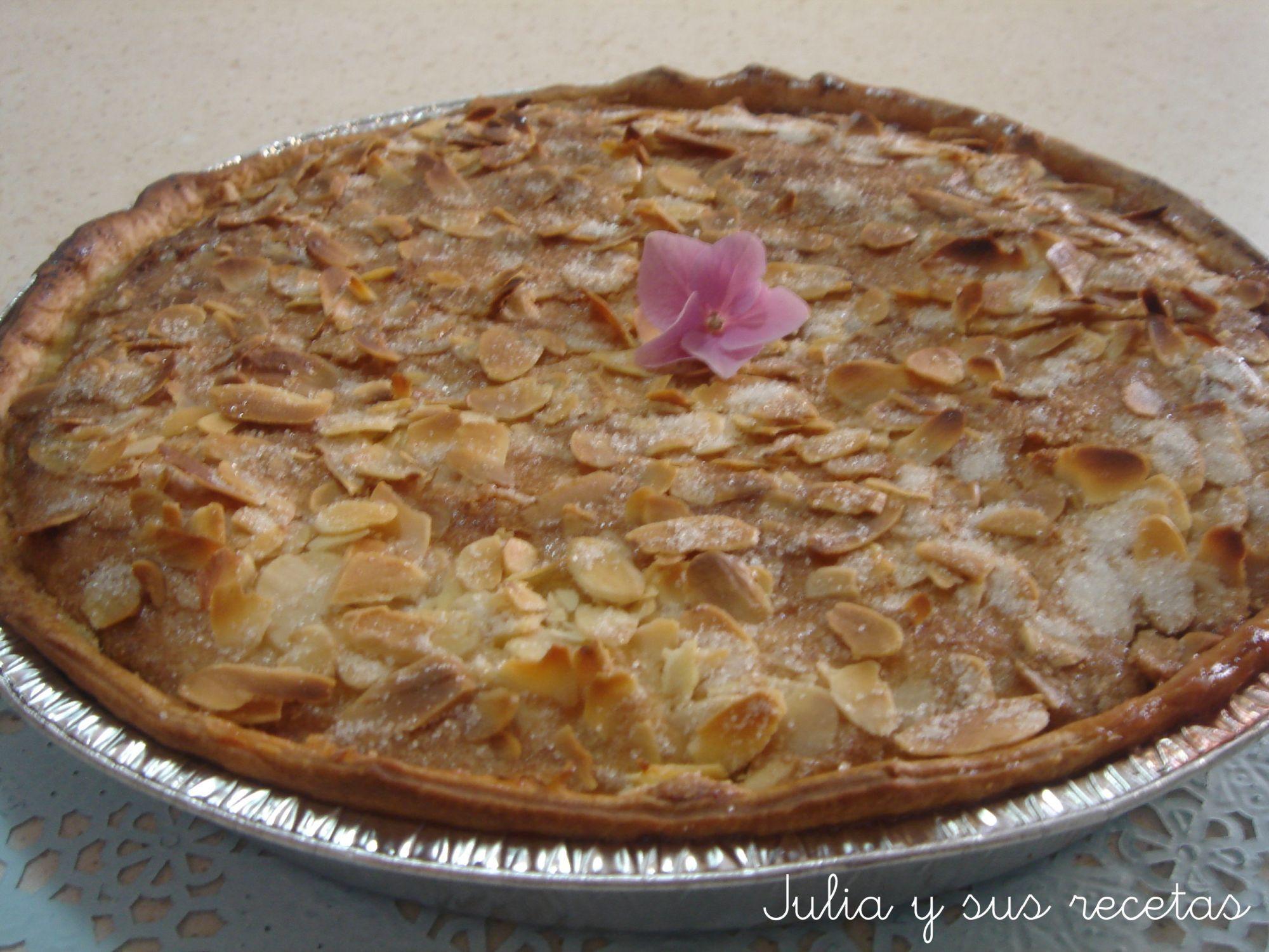 Descubre la receta de esta deliciosa tarta de almendras