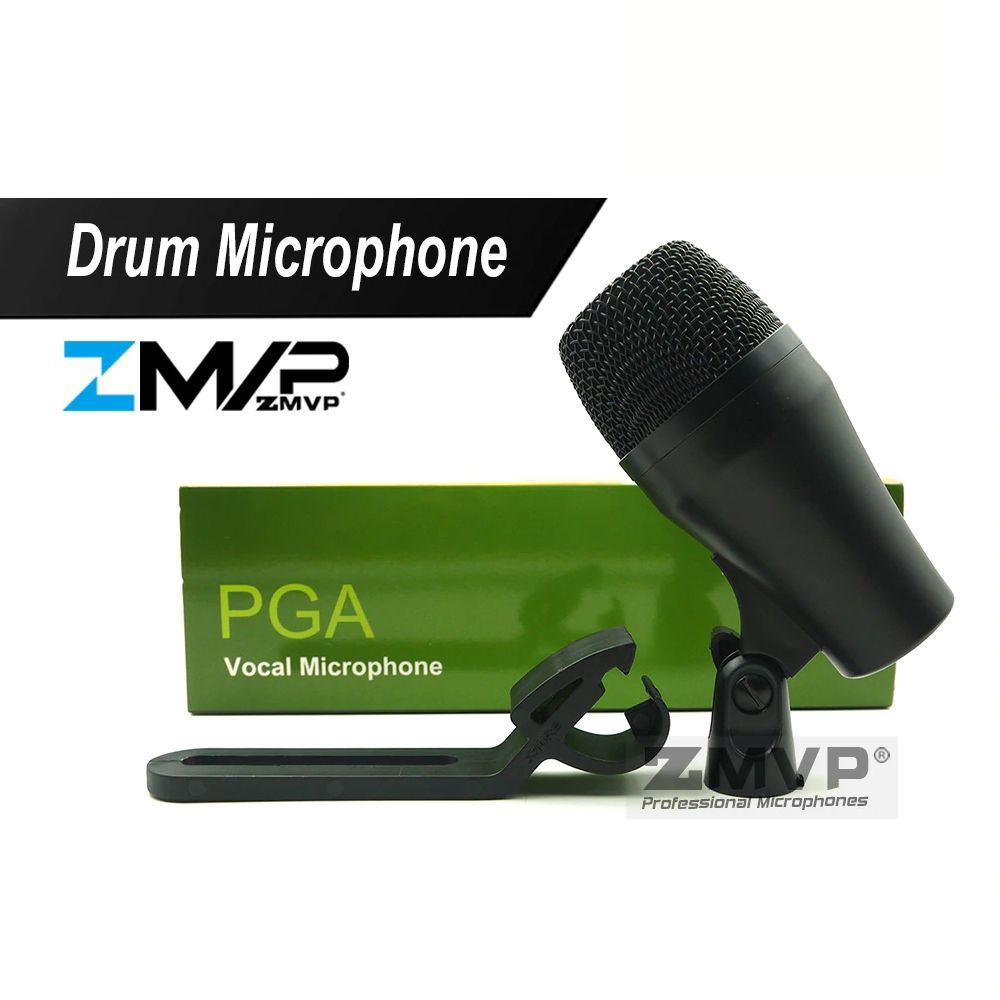 Pga52 Super Cardioid Dynamic Pga 52 Instrument Microphone Mic For Percussion Bass Drum Toms Snare Drums Snare Drum Microphone Drum And Bass