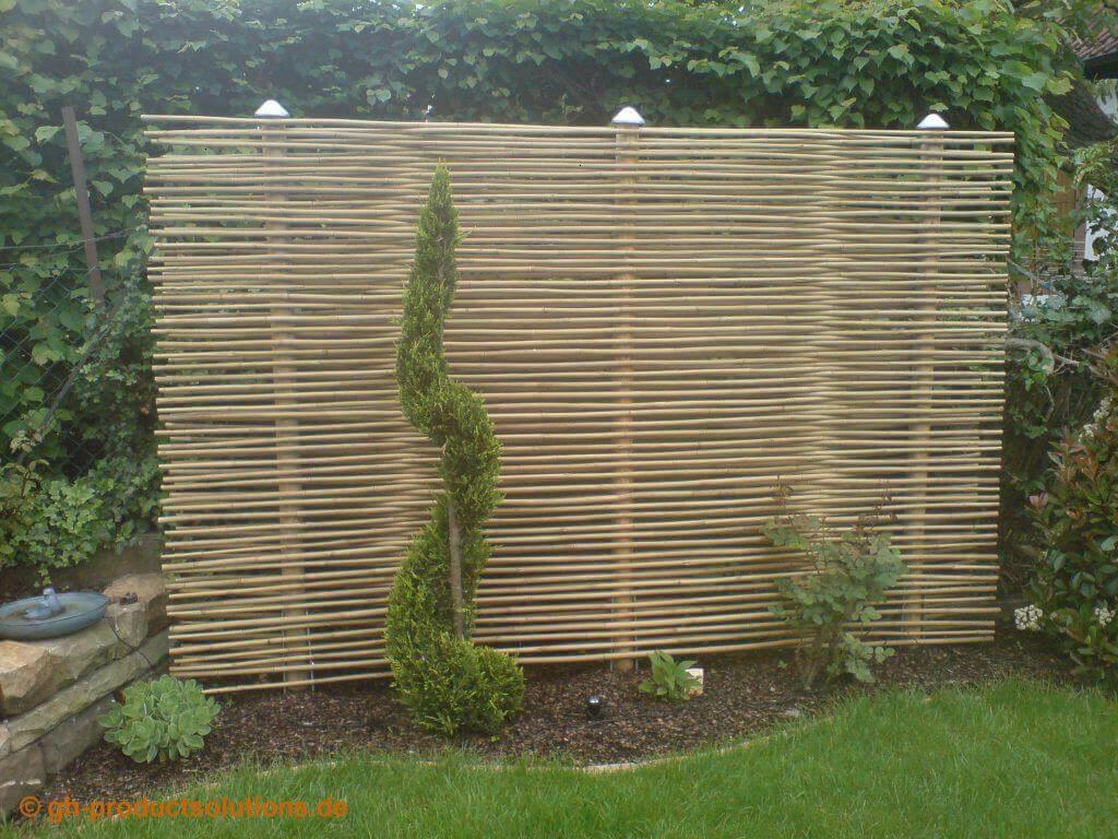 Garten Sichtschutz Gartendekorationen In 2020 With Images