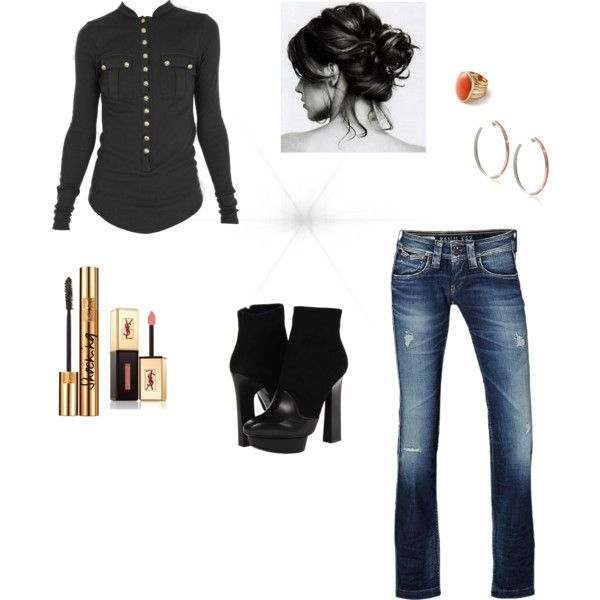 """""""Comfy Casual"""" by camperbrandi on Polyvore"""