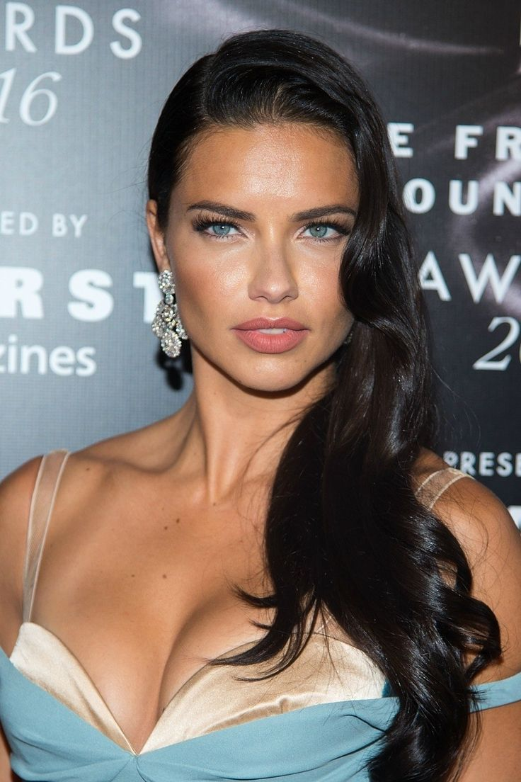 Best Hairstyles For 2017 2018 Adriana Lima S Old