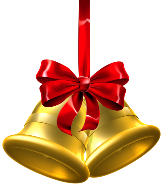 Christmas Bell Decorations Captivating Gold Christmas Bells Png Clip Art Image  Navidad  Pinterest Inspiration