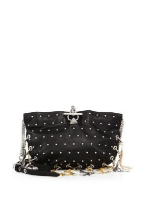 d05cdb45d4 SONIA RYKIEL Domino Studded Leather Chain Crossbody. #soniarykiel #bags #shoulder  bags #hand bags #leather #crossbody #