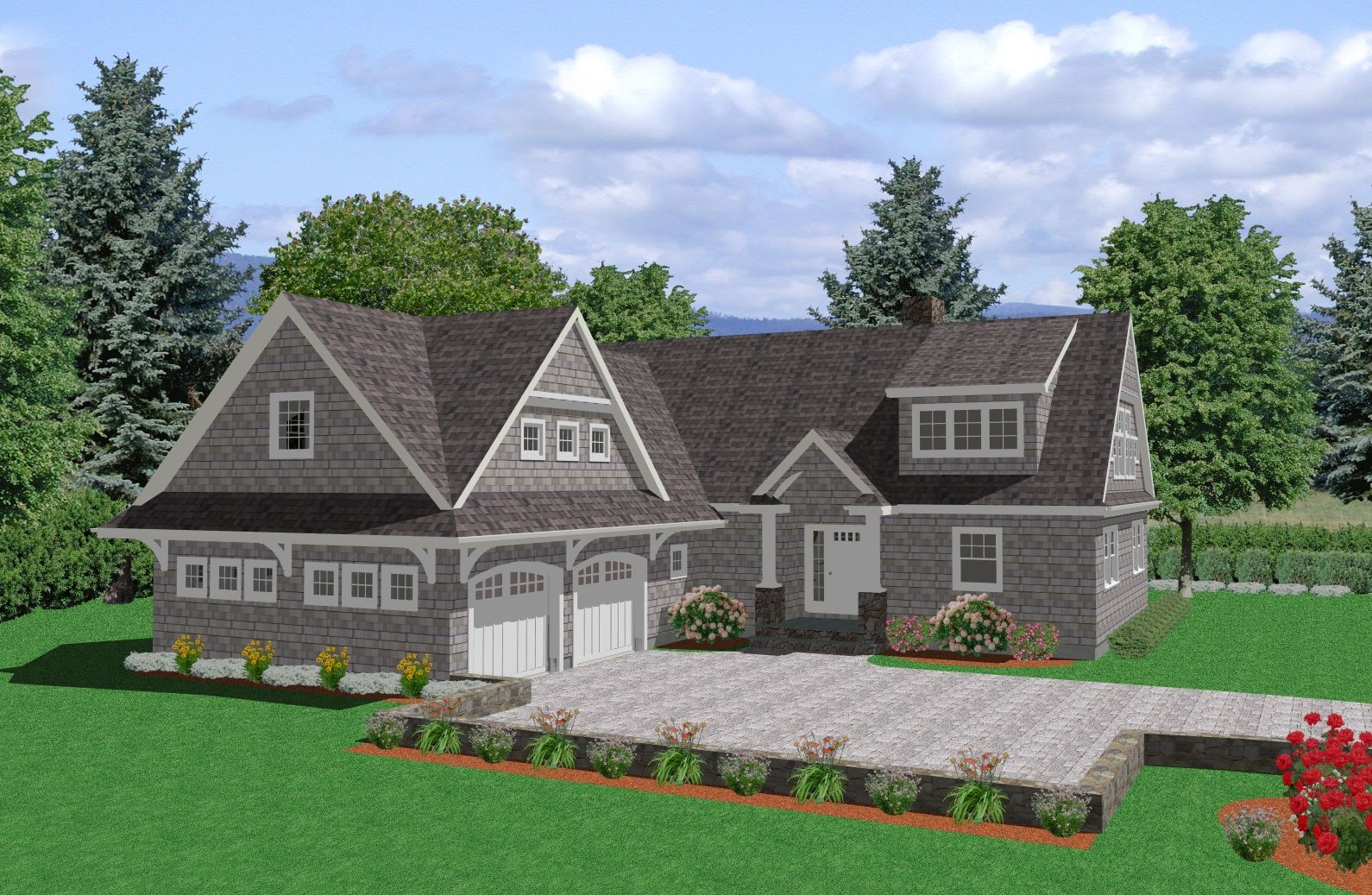 cape cod style homes | Cape Cod House Plans and Cape Cod Designs ...