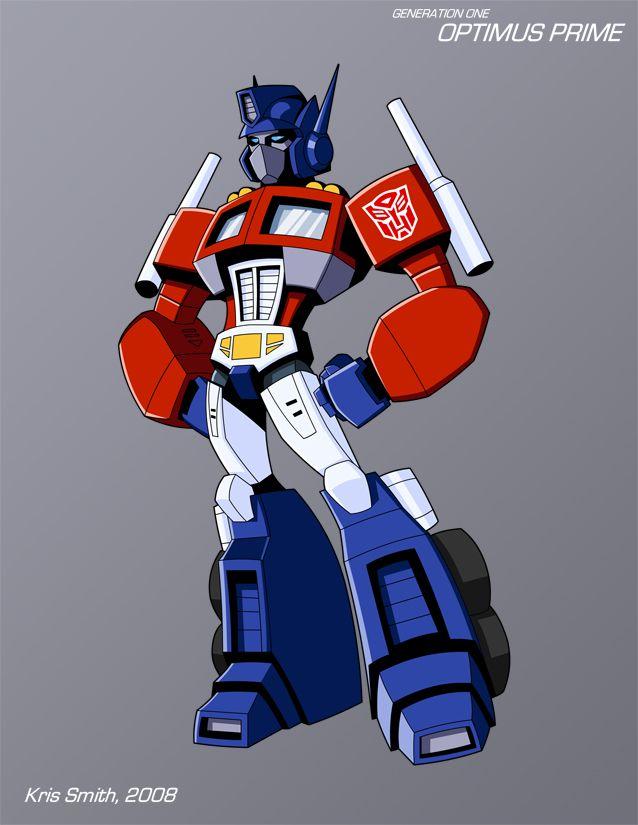 WEEK 4 Gen 1 Optimus Prime by KrisSmithDW.deviantart.com on @DeviantArt