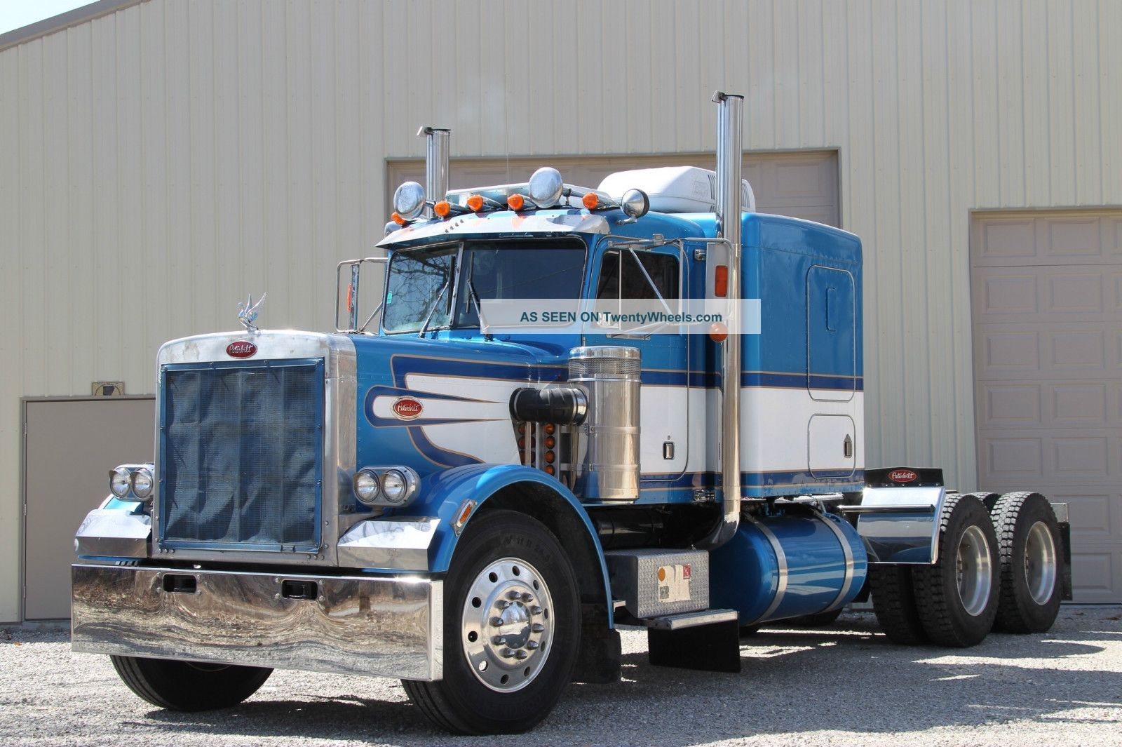1978 peterbilt classic 359 sleeper semi trucks photo
