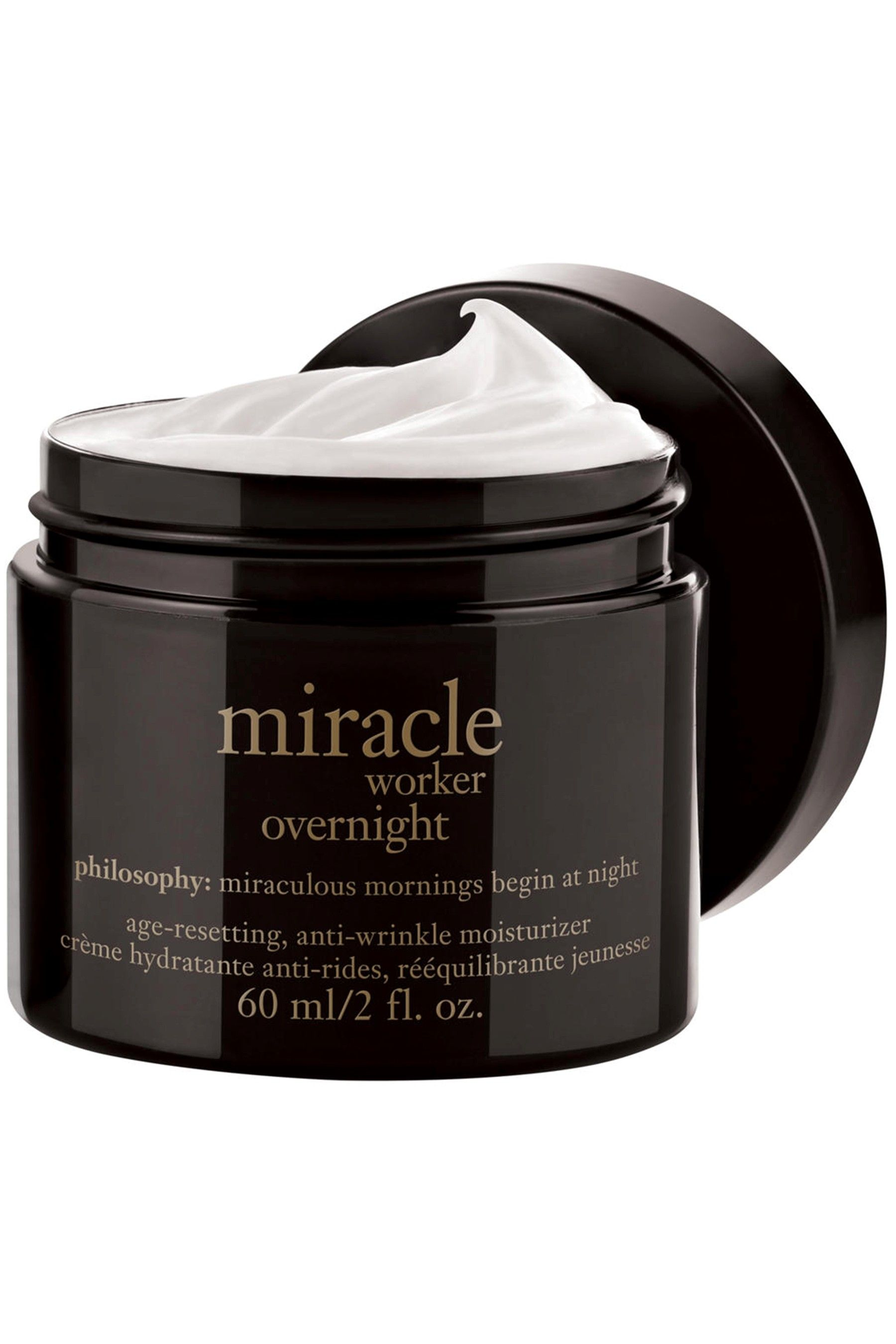 Womens Philosophy Anti-Wrinkle Miracle Worker Overnight Moisturizer - No  Colour 4aa0bf6ffb