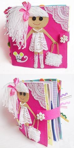 Children's Quiet Book Busy Book Fabric by RainbowHappiness on Etsy #sommerlichebastelarbeiten Children's Quiet Book Busy Book Fabric by RainbowHappiness on Etsy #sommerlichebastelarbeiten