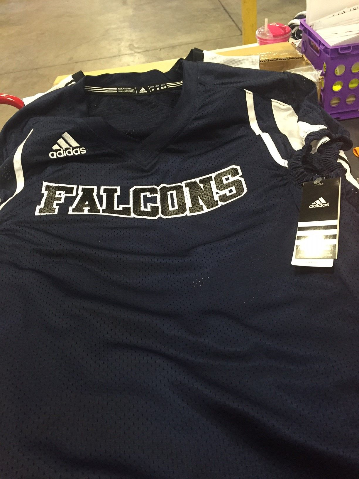 Just printed these  custom  adidas  football  jerseys! Need some  Call us  800-435-6110!  Sportdecals 9d33ea06d
