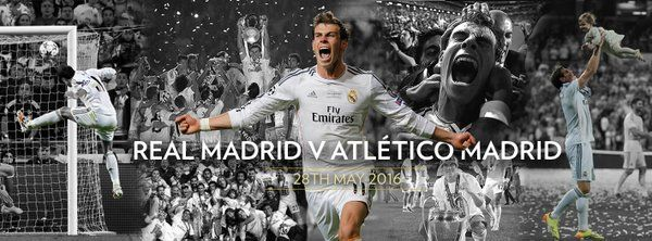 Gareth Bale. Real Madrid vs Atlético de Madrid. Por: granfutbol.com
