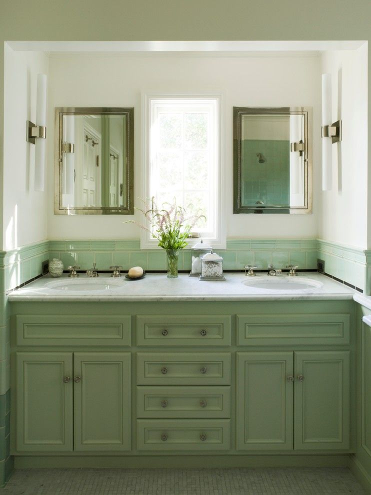 48 inch double sink vanity bathroom traditional with 2 sinks bathroom california coddington design girly - 60 Inch Vanity