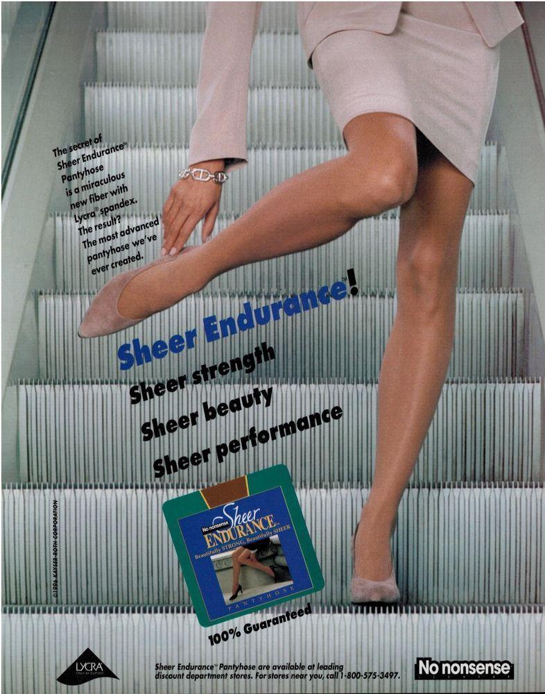 ads Magazine pantyhose