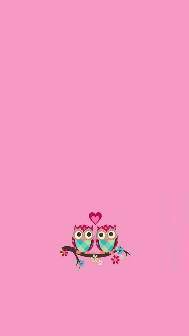 Pink Love Birds Bird Wallpaper Pink Love Iphone