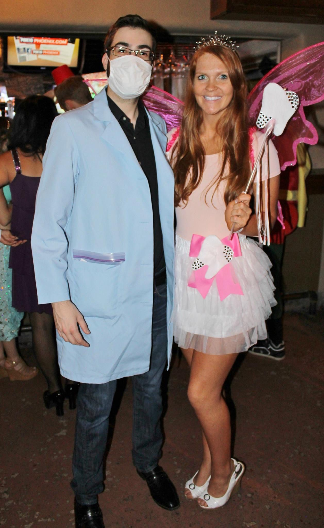 Couple Costume Dentist And Tooth Fairy Couples Halloween